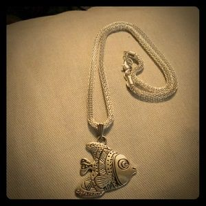 NWOT Fish Necklace